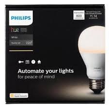 philips hue starter kit w 2 white smart bulbs connectivity hub