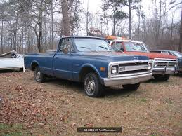 100 1969 Chevy Trucks Truck C10 Lwb 250 3 Speed 2 Owners