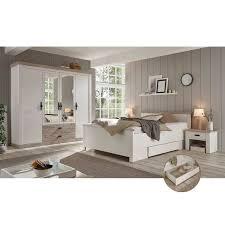 schlafzimmer komplett im landhausstil ferna 61 in pinie weiß nb mit absetzungen in pinie dunkel nb