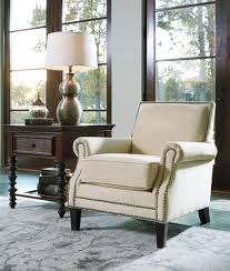 Nailhead Dining Room Chairs Elegant Accent Chair Blue Wood Ivory