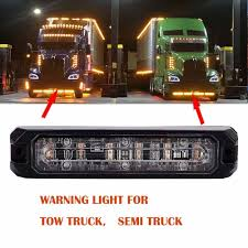 LED Emergency Warning Tow Truck Semi Truck Pickup Roof Strobe Light ...
