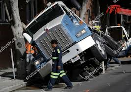 100 Tow Truck San Francisco Tow Truck Driver Walks Past Big Rig Editorial Stock Photo