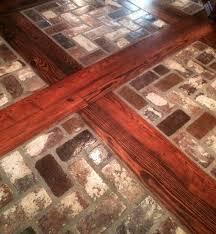 inlaid tile wood floor wood flooring design