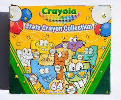 Crayola Bathtub Crayons Collection by State Crayon Collection What U0027s Inside The Box Jenny U0027s Crayon