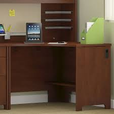 Bush Desk Series C by Envoy 42 In Corner Desk Hansen Cherry Hayneedle
