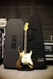 The Black One John Mayer Fender