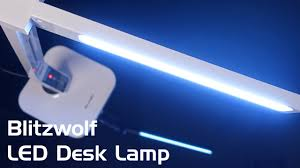 review blitzwolf led desk l with adjustable color temperature