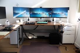 ikea bekant gaming desk photos hd moksedesign