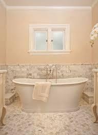 master bathroom with tile floors by garrison hullinger