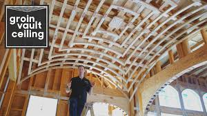 Groin Vault Ceiling Images by Ceiling Framing Kit Youtube