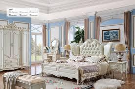 königliches design klassik rokoko antik stil schlafzimmer bett schrank set 981