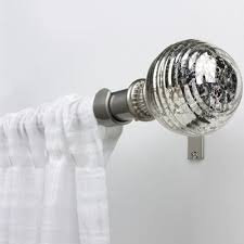 Jcpenney Curtain Rod Finials by Bali Mercury Glass Adjustable Curtain Rod Jcpenney
