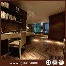 cheap wood look laminated ceramic glazed porcelain floor tiles