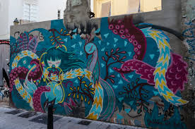 valencia s old town merges famous sights with street art the