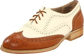 1930s Style Shoes Art Deco Wanted Womens Babe Oxford Shoe 5999 AT Vintagedancer
