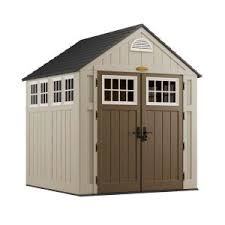 suncast alpine 7 ft 2 in x 7 ft 6 in resin storage shed