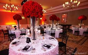 Outstanding Red Wedding Flower Arrangements 1000 Images About Redchocolate Centerpieces On Pinterest