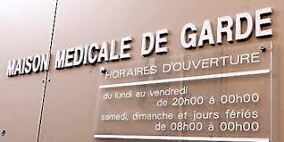 maisons médicales de garde en grève le 1er janvier