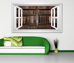 3d wandtattoo alte bücher buch regal antik bibliothek selbstklebend wandbild sticker wohnzimmer wand aufkleber 11k802 3dwandtattoo24 de