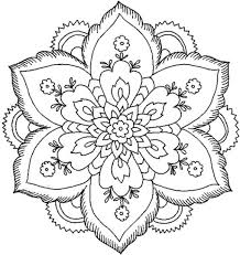 Pics Coloring Butterfly Mandala Pages With Printable 45 Simple 5461 Flower