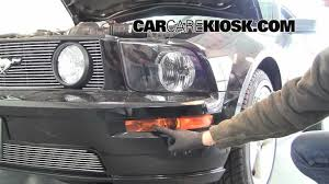 how to change the fog light headlight and turn singals on a 2006
