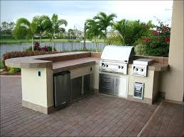 L Shaped Outdoor Kitchen Depot Built In Grill Kits