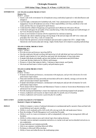 Team Leader Production Resume Samples | Velvet Jobs 18 Amazing Production Resume Examples Livecareer Sample Film Template Free Format Top 8 Manufacturing Production Assistant Resume Samples By Real People Event Manager Divide Your Credits Media Not Department Robyn Coburn 10 Example Payment Example And Guide For 2019 Assistant Smsingyennet Cmnkfq Tv Samples Velvet Jobs Best Picker And Packer