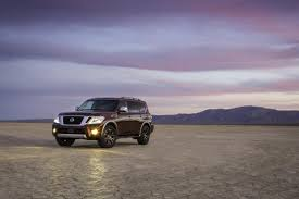 2017 Nissan Armada Shares Body-on-Frame Chassis With The Patrol Y62 ... 2018 Nissan Armada Platinum Reserve Wheel The Fast Lane Truck With Ielligent Rear View Mirror Palmer Vehicles For Sale 2017 Takes On The Toyota Land Cruiser With A Rebelle Yell Turns Rally Car Kelley Tractor And Pull Fair 2011 Nissan Armada Platinum 4wd Suv For Sale 587999 Adventure Drive First Of Pathfinder Titan 2015 Sv 5n1aa0nc1fn603728 Budget Sales 2012 Used 4dr Sl At Conway Imports Serving