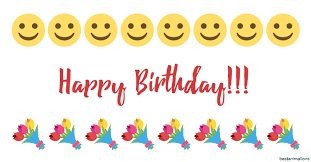 Emoji Smileys Everywhere Cool Kisses Smiles And Laugh Animated Mix For Great Happy Birthday