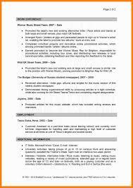 Cv Profile Examples Freeresume Fresh Student Resume Good Of