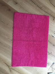 badezimmer teppich wie neu pink