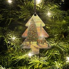 Thomas Kinkade Christmas Tree Cottage by Thomas Kinkade Symbols Of Freedom Tree Hanging Acrylic 8554216 Hsn