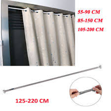 Spring Loaded Curtain Rod 300cm by Tension Curtain Pole Ebay