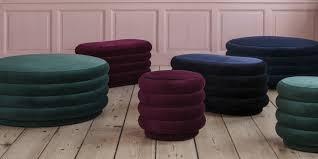 pouf de canapé poufs design 20 modèles dans l air du temps