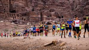 The Petra Desert Marathon Includes Negotiating Rock Formations That Look As If They Belong On Mars