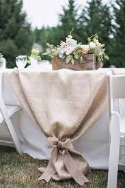 Wedding Table Decoration Ideas Using Burlap