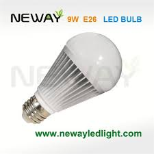 9w a60 led bulb replaces 60 watt incandescent bright white 9w e27