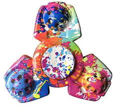 Heres Another Good Price On A Fidget Toy Get The STRESS SPINNER Colorful Camo Tri Hand Spinning Finger To Help Focus And Relieve Anxiety