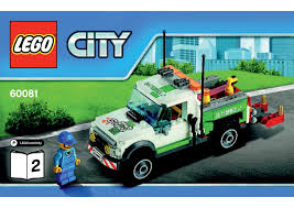 100 Lego City Tow Truck LEGO 60081 Pickup Instructions LEGO CITY 2015