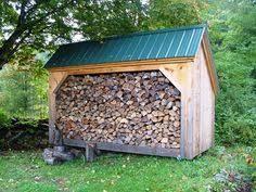 diy plans 4x8 saltbox woodbin storage shed firewood storage