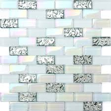 Glass Tiles For Backsplash by Tst Glass Conch Beach Style Mother Of Pearl Shell Resin White