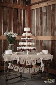 Rustic Wedding Cupcake Tower Display