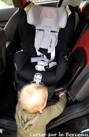 siege bebe pivotant isofix test le siège auto sirona de cybex cerise sur le berceau