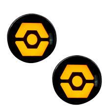 100 Batman Truck Accessories Wrangler Front Turn Signal OLED Car Parts 264334CL