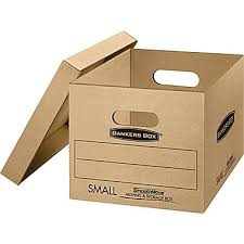 bankers box smoothmove classic moving boxes small 15 x12 x10
