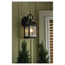 88192 802 two light outdoor wall lantern obsidian mist