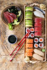 spécialité japonaise cuisine sushi set by natashabreen food rt japonais recette