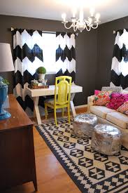 wonderful grey and white chevron curtains decorating ideas gallery