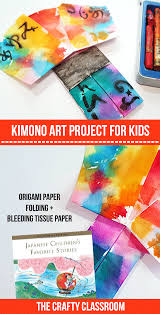 Kimono Art Project For Kids
