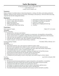Resume Examples For Manufacturing Supervisor Packed With To Prepare Astonishing
